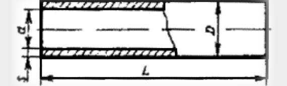 Напорные асбестоцементные трубы
